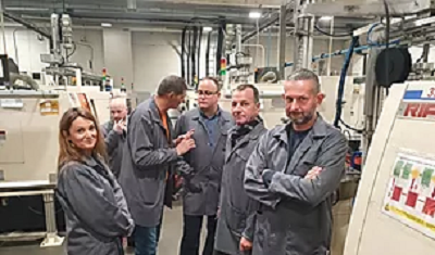 Visit of Grupa Marat Company